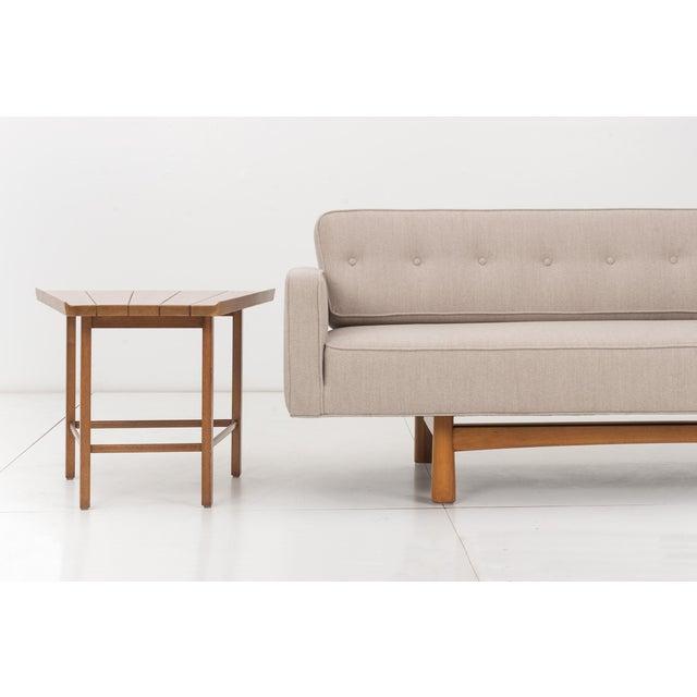Tan Edward Wormley Gondola Style Sofa for Dunbar For Sale - Image 8 of 11
