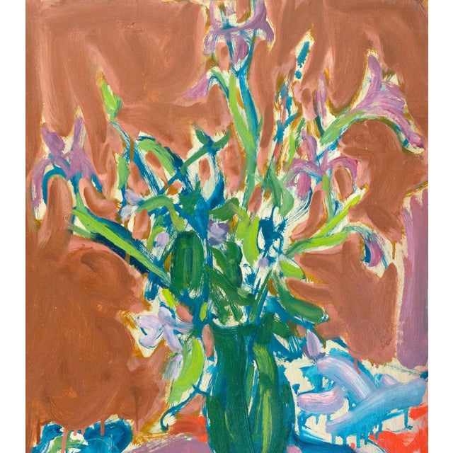Signed lower left 'Di Gesu' and painted circa 1955. MEDIUM: Paper,Oil,Foam Board A winner of the Prix Othon Friesz, Victor...