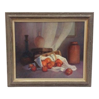 Carrie Lewis Oil on Canvas Still Life Painting For Sale
