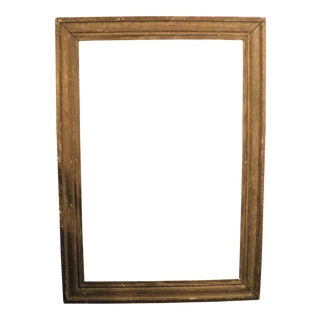 Large Antique Distressed Picture Frame