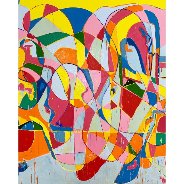 John O'Hara. Ep, 2. Encaustic Painting For Sale - Image 4 of 5
