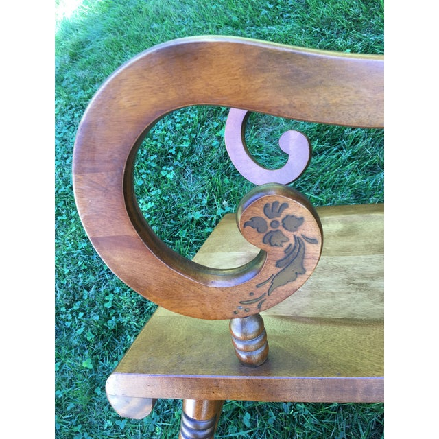 Tell City Balloon Back Rocking Chair - Image 5 of 8