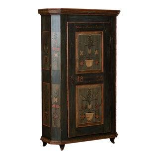 19th Century Folk Art Armoire For Sale