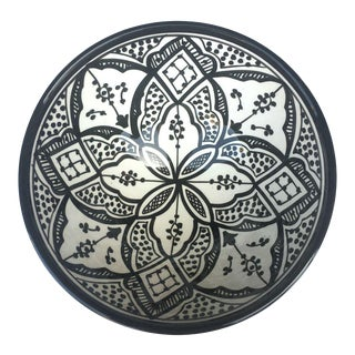 Safi Serving Bowl, Black For Sale