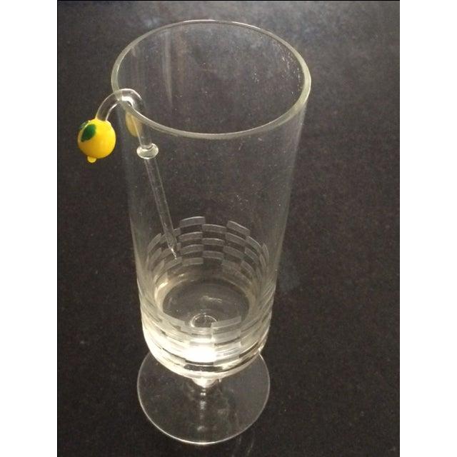 MCM Handblown Glass Swizzle Sticks Set - 6 For Sale - Image 4 of 8