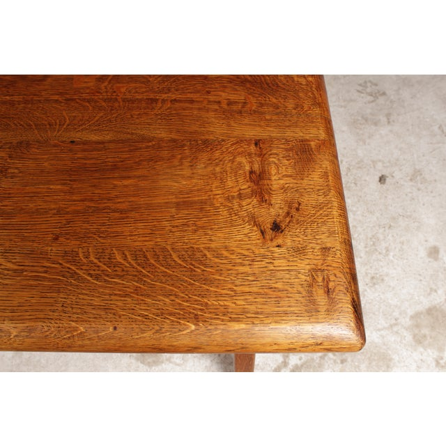 Arts & Crafts-Style Coffee Table - Image 4 of 5
