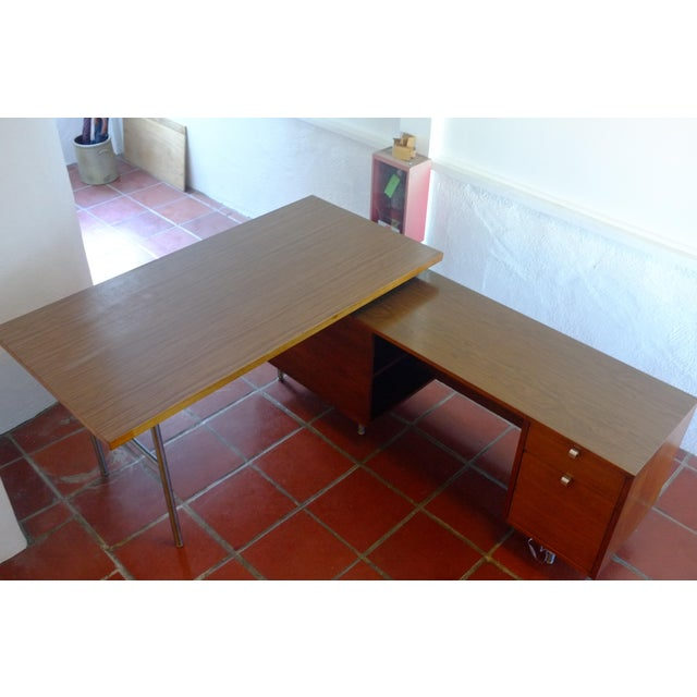 Herman Miller / George Nelson Executive Office Group Desk For Sale - Image 11 of 11