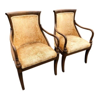 French Style Armchairs - A Pair