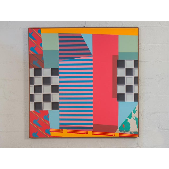 Trio of Large-Scale 1980s Abstract Paintings - 3 Pieces For Sale In New York - Image 6 of 10