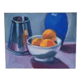 Beth Downey Tablescape Painting For Sale