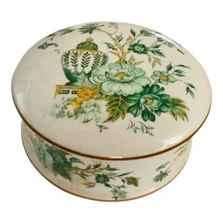 1970s Vintage Staffordshire Kowloon English British Box For Sale