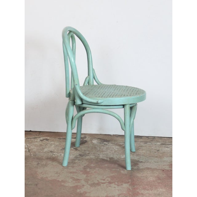 1940s Vintage Bistro Chairs- Set of 4 For Sale In Los Angeles - Image 6 of 8