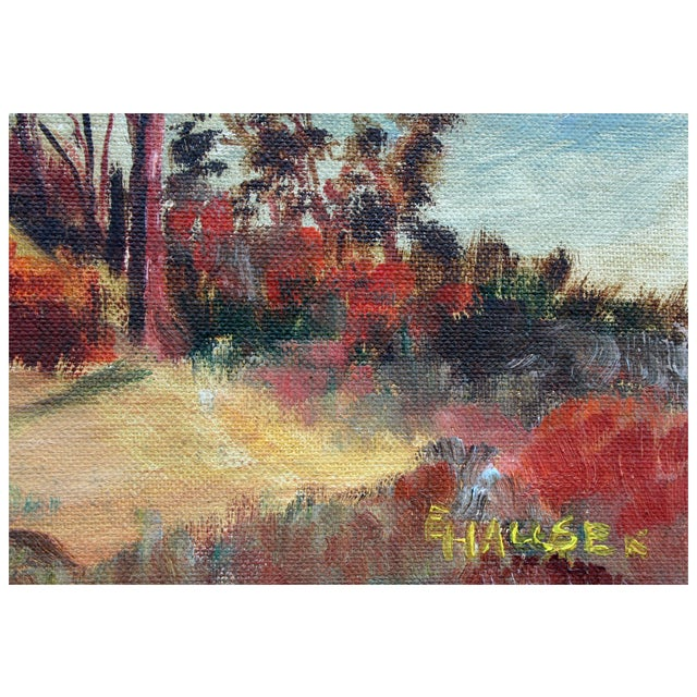 California Hills Painting by Hauser For Sale - Image 4 of 4