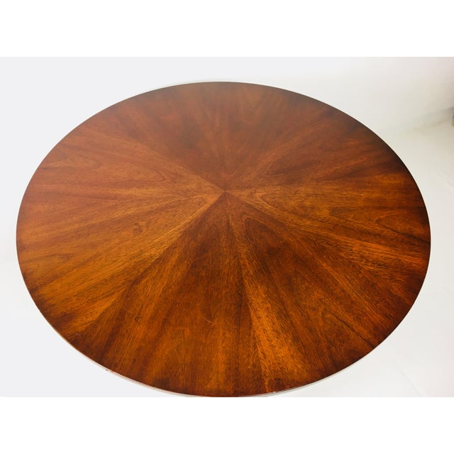 Asian 1950s Chippendale Kindel Mahogany Center Table For Sale - Image 3 of 11