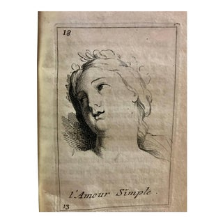 """Versailles Louis XIV 1698 book with engraving by """"Charles LeBrun """""""