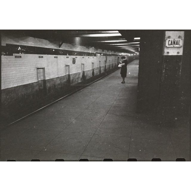 1932 Porcelain New York Subway Canal Street Sign - Image 8 of 8