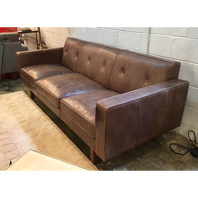 Awe Inspiring Gus Modern Leather Embassy Sofa Download Free Architecture Designs Viewormadebymaigaardcom