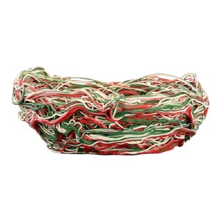 Large Gaetano Pesce Spaghetti Bowl/Basket For Sale
