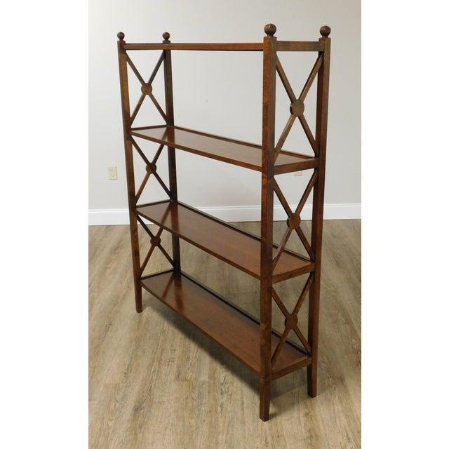 Grange Grange French Cherry 4 Tier Bookshelf For Sale - Image 4 of 13
