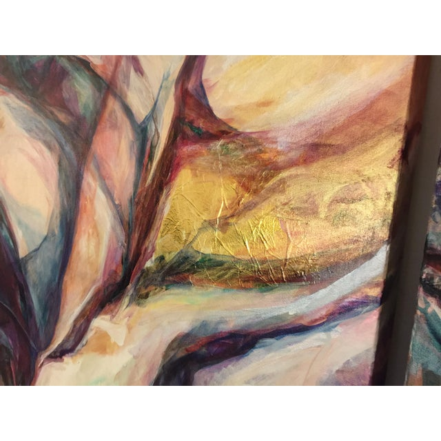 Jane Mikacich Contemporary Abstract Paintings - A Pair For Sale - Image 5 of 8