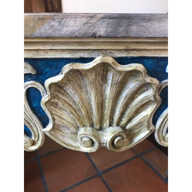 Painted 1920s Console Table - Image 6 of 10
