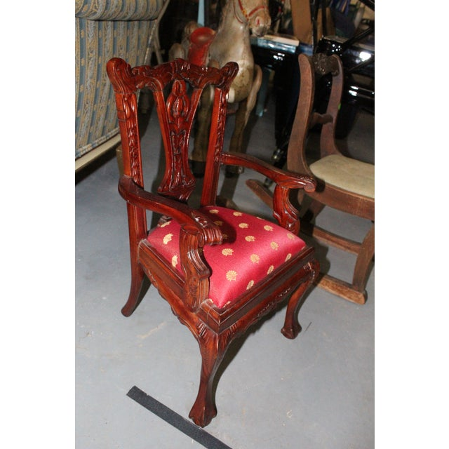 Children's Late 20th Century Children's Chippendale Chair For Sale - Image 3 of 4