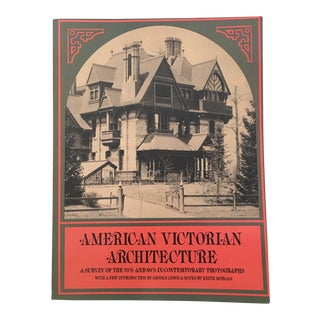 """1975 """"American Victorian Architecture"""" First Dover Edition Art/Photo Book For Sale"""