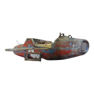 American Folk Art Spaceship Ride, 1950s For Sale