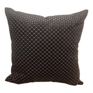 Velvet Dot Pillow For Sale
