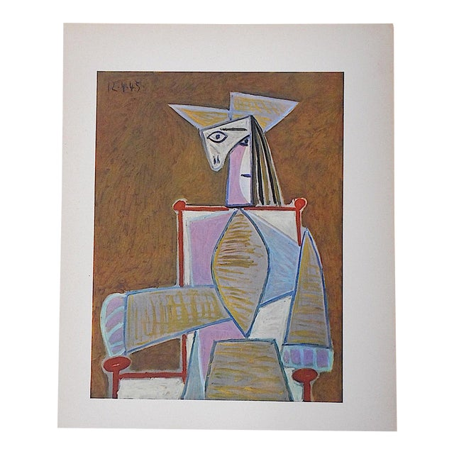 Vintage Picasso Lithograph For Sale