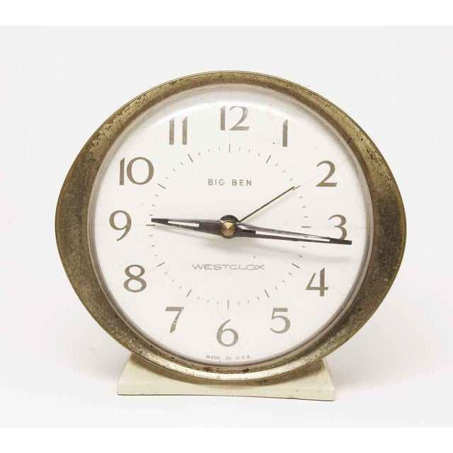 Old Big Ben wind up alarm clock. Stamped 58055. Untested. Please inquire about working condition.