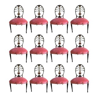 Karges Hepplewhite Style Dining Chairs - Set of 12
