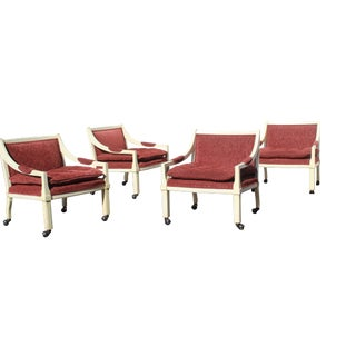 Vintage Mid Century Chairs- Set of 4 For Sale