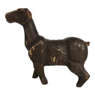 Old Wooden Carved Horse For Sale