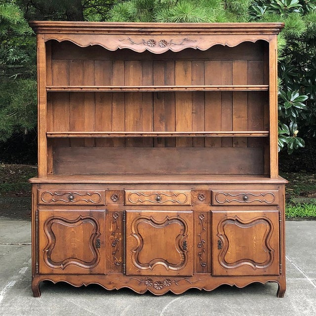 19th Century Country French Vaisselier ~ Buffet For Sale - Image 13 of 13