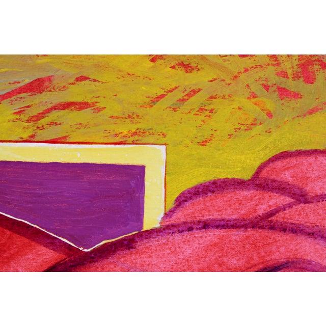 """Surrounding Red"" by Doris Vlasek Hails - Image 2 of 3"