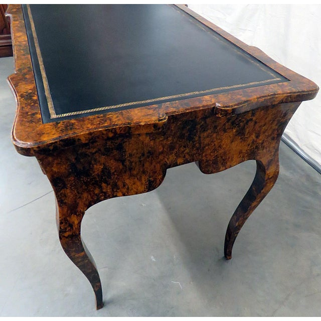 Directoire Style Leather Top Writing Desk For Sale In Philadelphia - Image 6 of 9