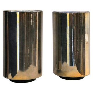 "Pair of Minimalist ""Corfou"" Lamps by Roger Nathan, France, 1970s For Sale"