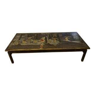 1960s Philip and Kelvin LaVerne Chin Ying Coffee Table For Sale