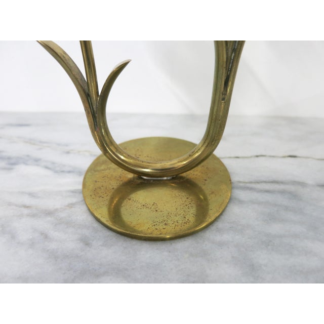 Mid 20th Century Ystad-Metall Candle Holder For Sale - Image 10 of 11