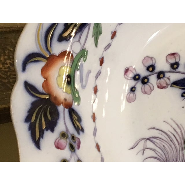 Ceramic 1820s Antique English Masons Ironstone Deep Serving Bowl For Sale - Image 7 of 12