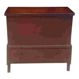 Early 19th C. American Sugar Chest For Sale