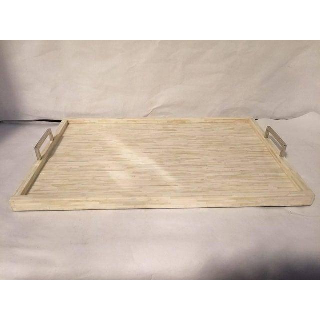 Extra Large Bone Inlay Tray - Image 2 of 6