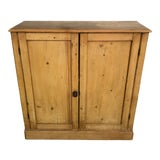 Image of 19th Century English Pine Cabinet For Sale