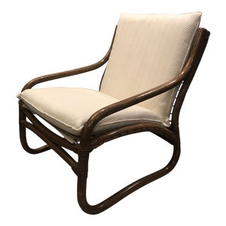 Mid Century Bentwood Lounge Chair