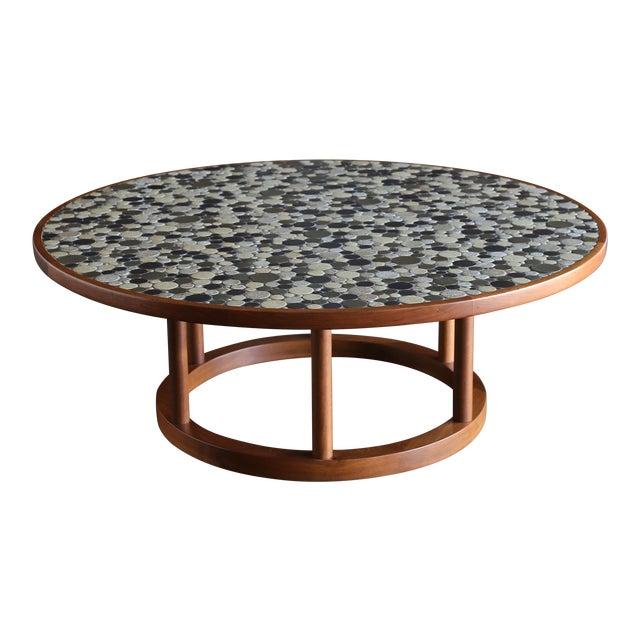 Jane & Gordon Martz Ceramic Tile Coffee Table for Marshall Studios, Circa 1960 For Sale