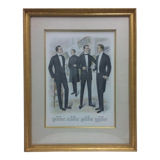 Framed Antique Clothing Line Print, 10 of 14