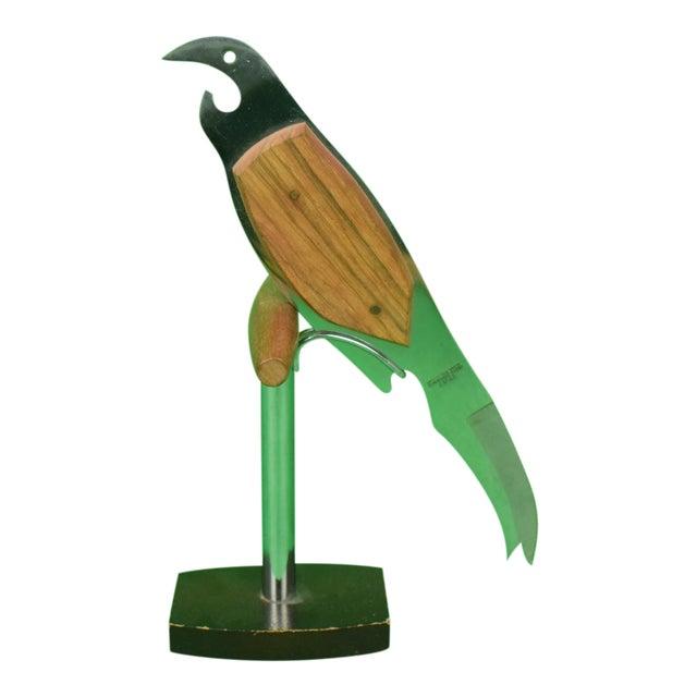 Parrot Garnish Knife W 'Bottle Opener' Beak For Sale