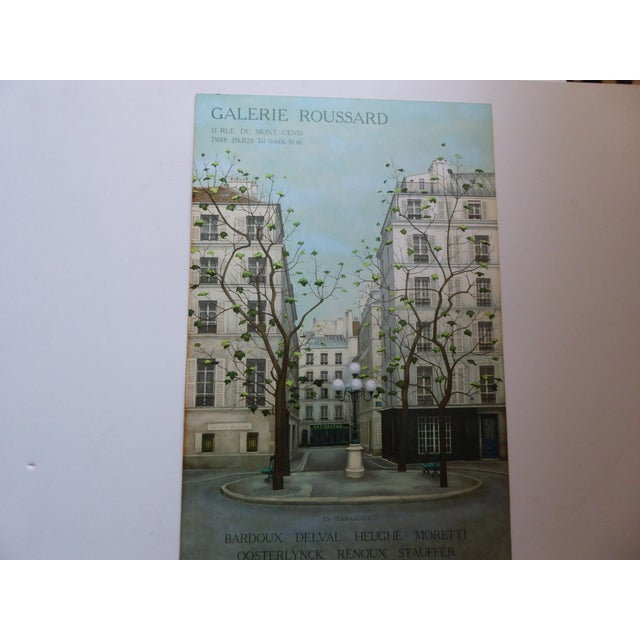 Vintage French Galerie Roussard Lithograph - Image 2 of 5