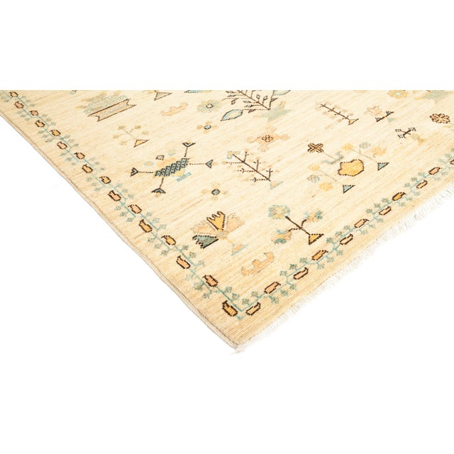 """Contemporary Amara, Eclectic Area Rug - 10' 1"""" X 13' 9"""" For Sale - Image 3 of 4"""